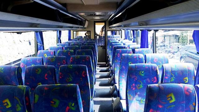 6000 Gambar Denah Tempat Duduk Bus Pariwisata Gratis